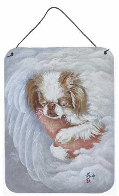 Japanese Chin in an Angels Arms Wall or Door Hanging Prints MH1037DS1216 by Caroline's Treasures
