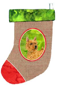 Buy this Norwich Terrier Christmas Stocking SS2061