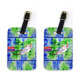 Buy this Pair of Egret Luggage Tags