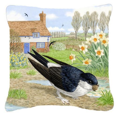 Buy this House Martin by Sarah Adams Canvas Decorative Pillow ASAD0682PW1414