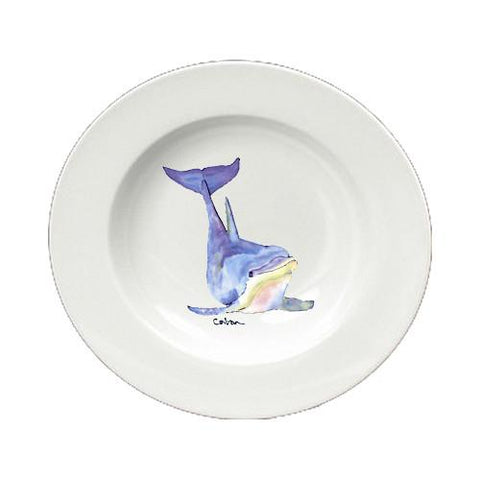 Buy this Dolphin Round Ceramic White Soup Bowl 8632-SBW-825