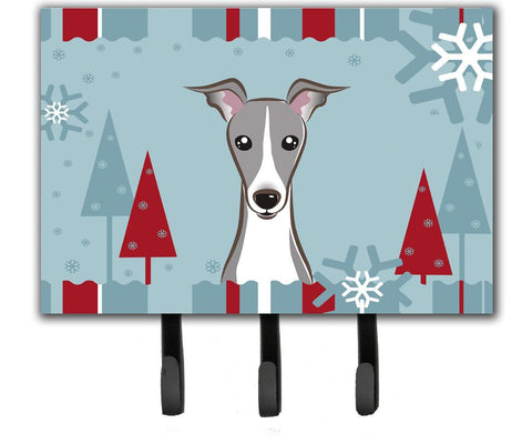 Buy this Winter Holiday Italian Greyhound Leash or Key Holder BB1732TH68