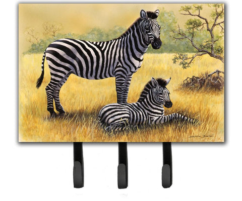 Buy this Zebras by Daphne Baxter Leash or Key Holder BDBA0308TH68