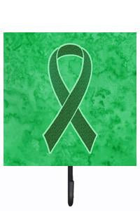 Kelly Green Ribbon for Kidney Cancer Awareness Leash or Key Holder AN1220SH4 by Caroline's Treasures