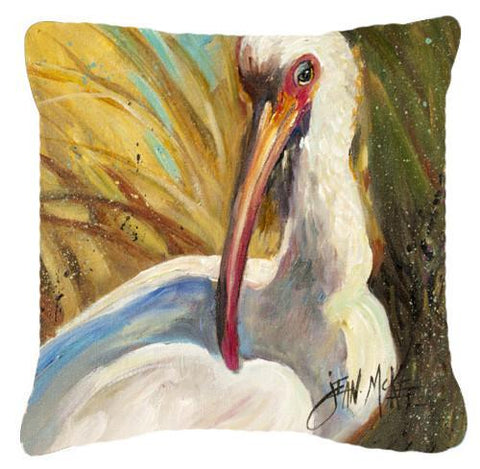 Buy this White Ibis Canvas Fabric Decorative Pillow JMK1222PW1414