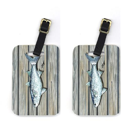 Buy this Pair of Fish Mullet Luggage Tags