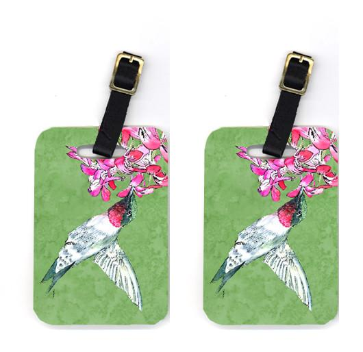 Buy this Pair of Hummingbird Luggage Tags