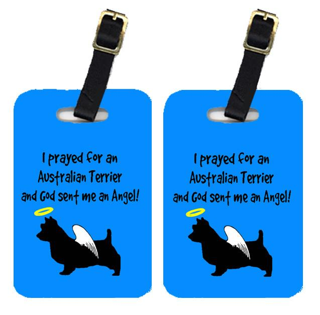 Pair of 2 Australian Terrier Luggage Tags by Caroline's Treasures