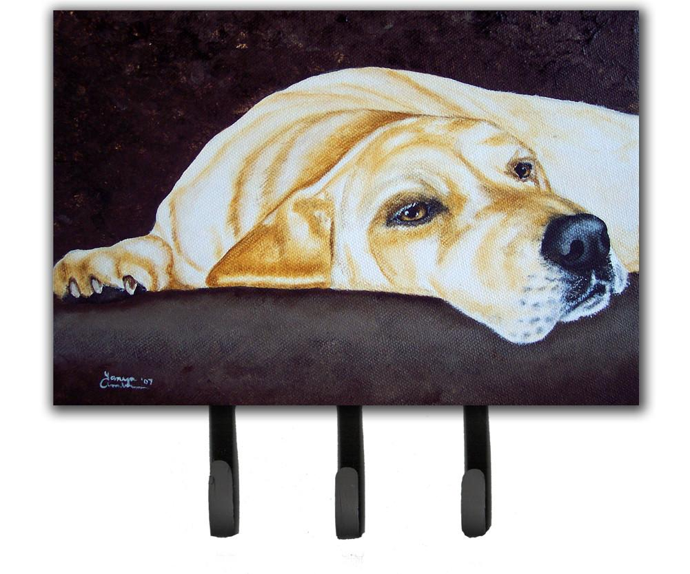 Buy this Naptime Yellow Labrador Leash or Key Holder AMB1072TH68