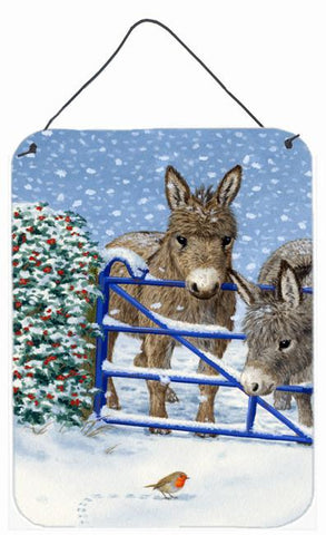 Buy this Donkeys and Robin Wall or Door Hanging Prints ASA2159DS1216