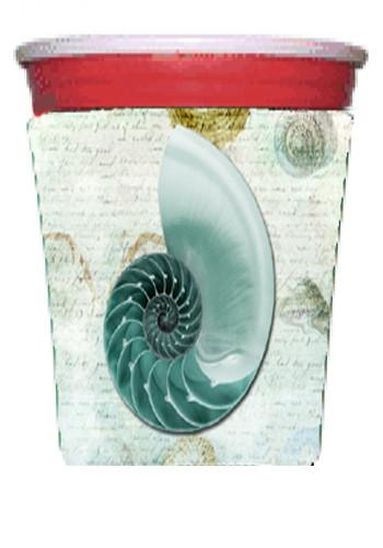 Shells  Red Solo Cup Beverage Insulator Hugger by Caroline's Treasures
