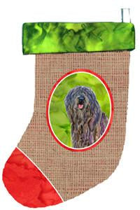 Buy this Bergamasco Sheepdog Christmas Stocking SS2026