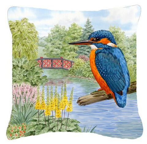 Buy this Kingfisher by Sarah Adams Canvas Decorative Pillow ASAD0692PW1414