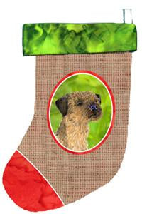 Buy this Border Terrier Christmas Stocking SS2078