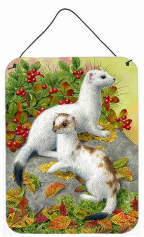 Buy this Ermine Stoat Short-tailed Weasel Wall or Door Hanging Prints ASA2138DS1216