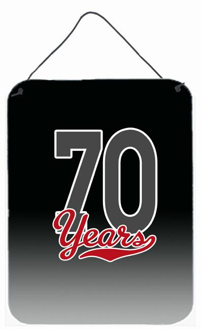 Buy this 70 Years Wall or Door Hanging Prints CJ1089DS1216