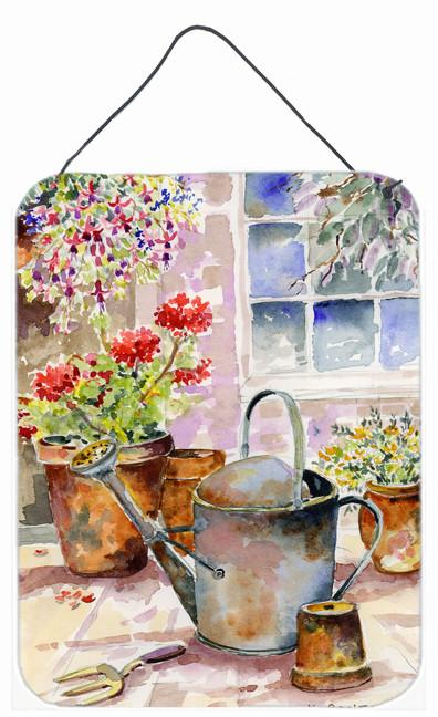 Buy this Watering Can Flowers Wall or Door Hanging Prints BMBO0303DS1216