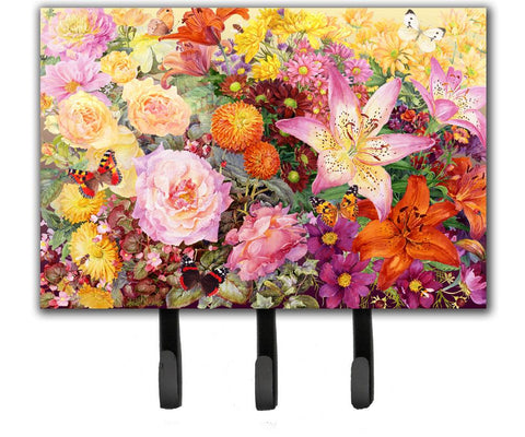 Buy this Autumn Floral by Anne Searle Leash or Key Holder SASE0955TH68