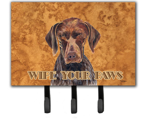 Buy this German Shorthaired Pointer Wipe your Paws Leash or Key Holder