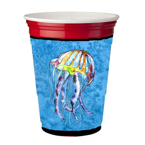 Buy this Jellyfish  Red Solo Cup Beverage Insulator Hugger