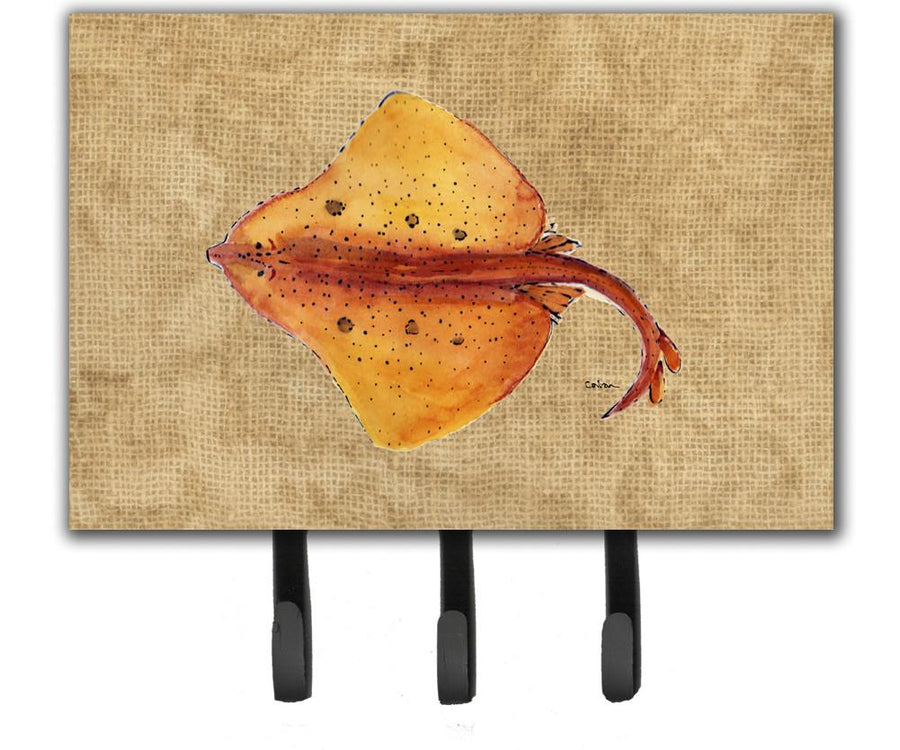 Buy this Blonde Ray Stingray Leash or Key Holder