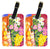 Buy this Pair of 2 Flower - Primroses Luggage Tags