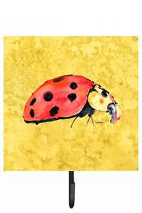 Buy this Lady Bug on Yellow Leash or Key Holder