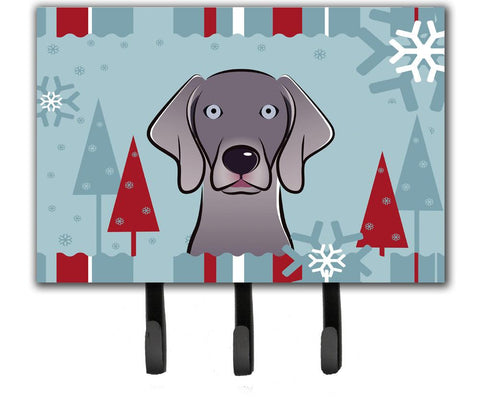 Buy this Winter Holiday Weimaraner Leash or Key Holder BB1727TH68