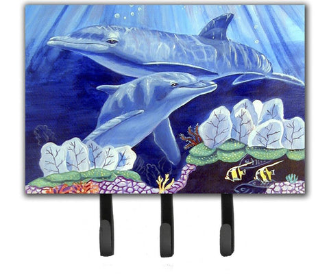 Buy this Dolphin under the sea Leash Holder or Key Hook