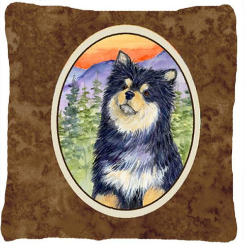 Buy this Finnish Lapphund Decorative   Canvas Fabric Pillow