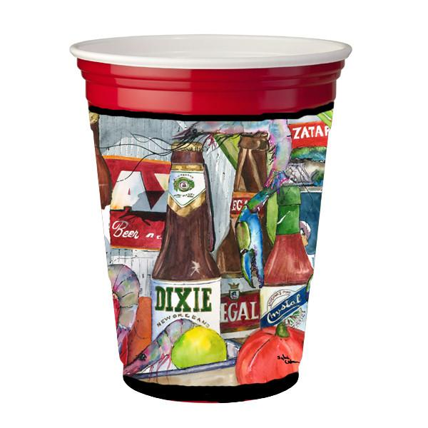 Buy this New Orleans Beers and Spices Red Solo Cup Beverage Insulator Hugger 1017