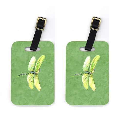 Buy this Pair of Dragonfly on Avacado Luggage Tags