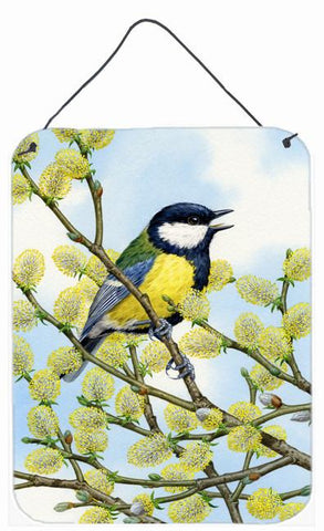 Buy this Eurasian Blue Tit on a branch Wall or Door Hanging Prints ASA2156DS1216