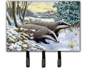 Buy this Winter Badgers Leash or Key Holder ASA2183TH68