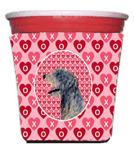 Buy this Irish Wolfhound  Red Solo Cup Beverage Insulator Hugger