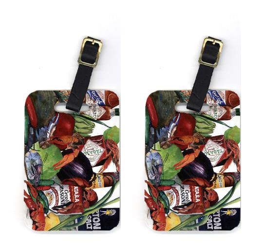 Buy this Pair of Louisiana Spices Luggage Tags