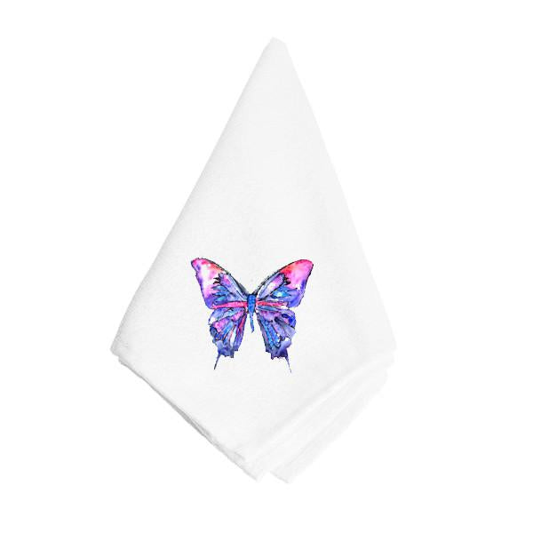 Buy this Pink and Purple Butterfly Napkin 8859NAP