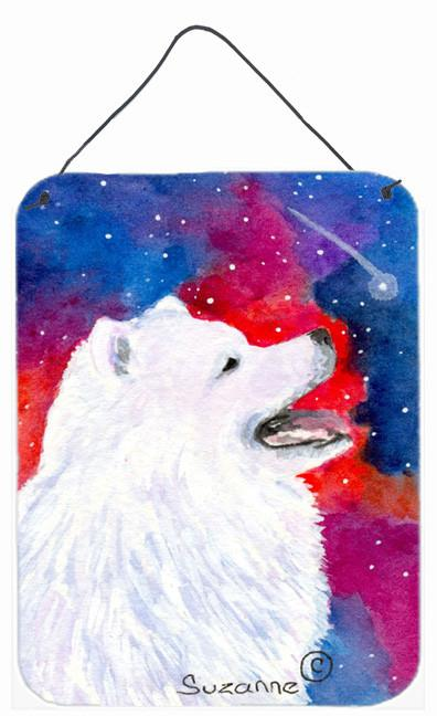 Buy this Samoyed Aluminium Metal Wall or Door Hanging Prints