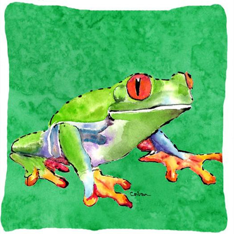 Buy this Frog Decorative   Canvas Fabric Pillow