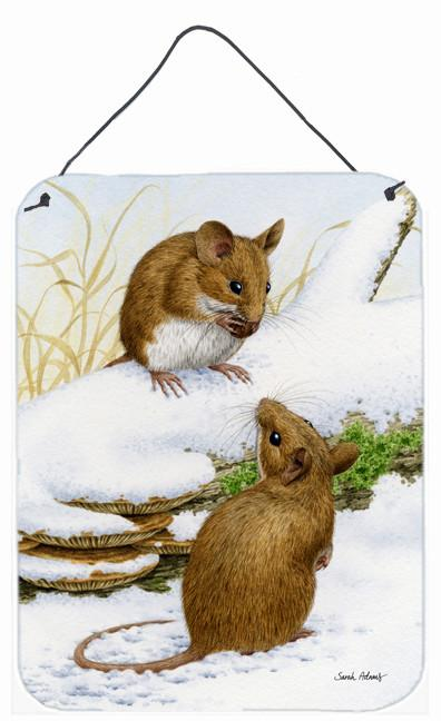 Buy this Wood Mice Wood Mouse Wall or Door Hanging Prints ASA2027DS1216
