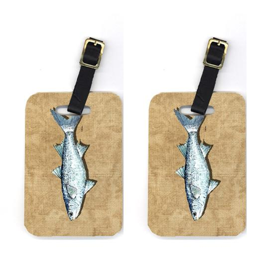 Buy this Pair of Mullet Luggage Tags