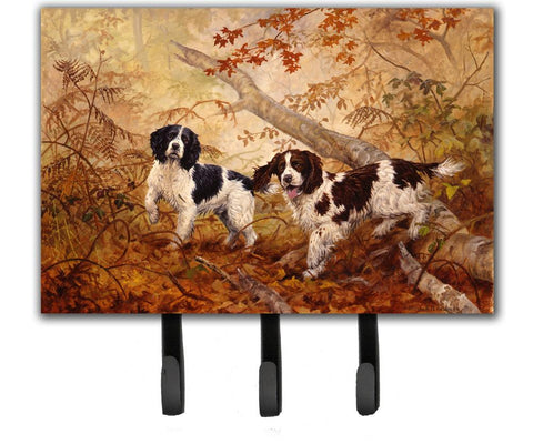 Buy this Springer Spaniels by Elizabeth Halstead Leash or Key Holder HEH0139TH68