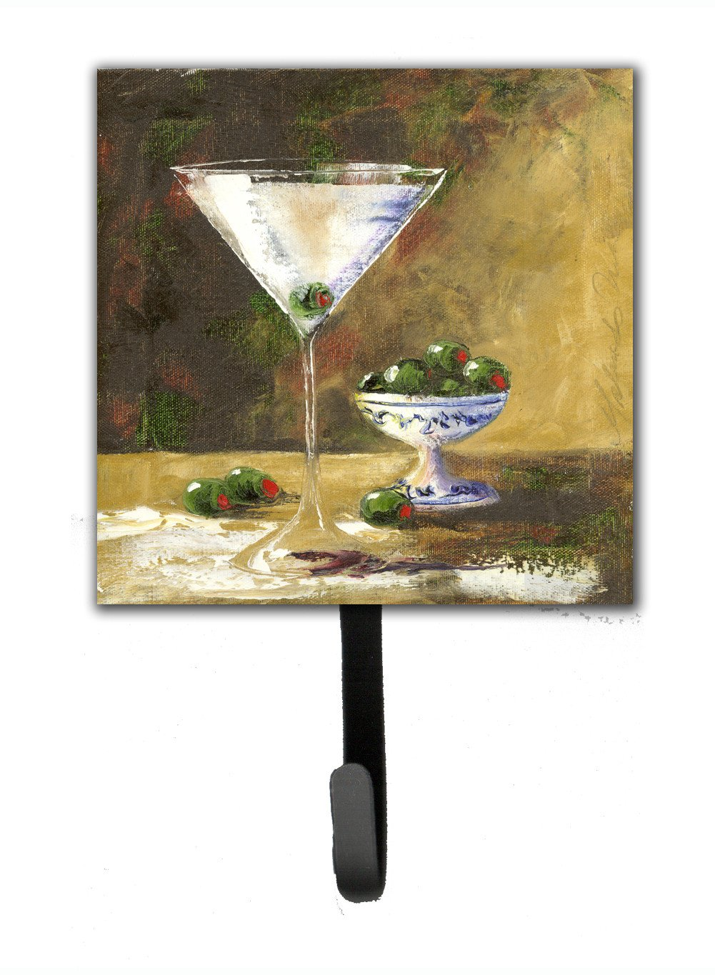 Buy this Olive Martini by Malenda Trick Leash or Key Holder TMTR0033SH4