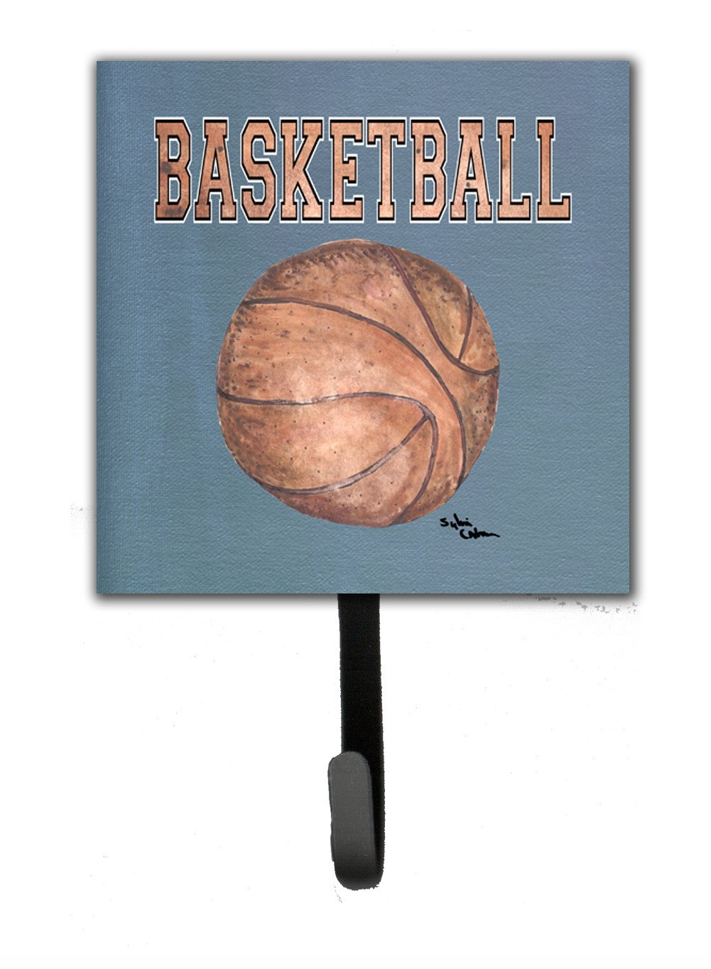 Basketball Leash or Key Holder by Caroline's Treasures