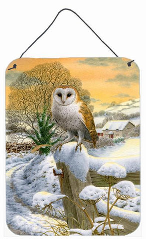 Buy this Sunset Barn Owl Wall or Door Hanging Prints ASA2002DS1216