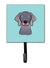 Buy this Checkerboard Blue Weimaraner Leash or Key Holder BB1169SH4