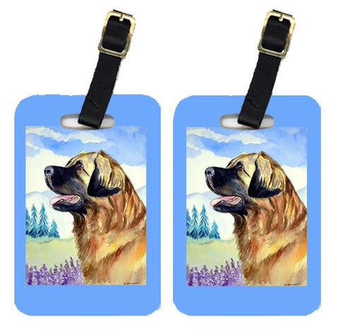 Buy this Pair of 2 Leonberger Luggage Tags