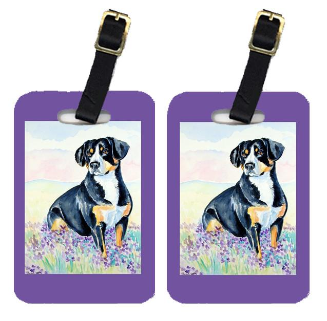 Buy this Pair of 2 Entlebucher Mountain Dog Luggage Tags