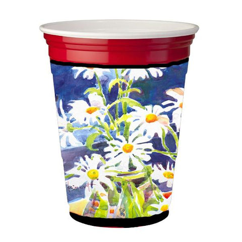Buy this Flowers - Daisy Red Solo Cup Beverage Insulator Hugger
