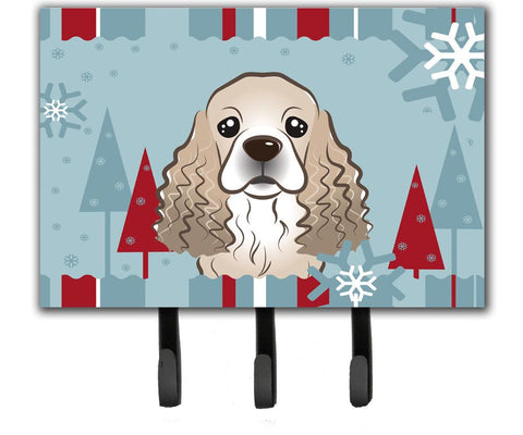 Buy this Winter Holiday Cocker Spaniel Leash or Key Holder BB1712TH68